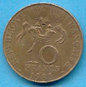 French coin; 200 year ballooning